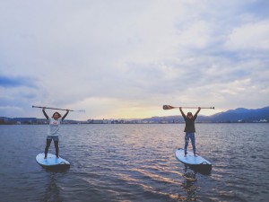 SUP YOGA/FIT in 御前崎 @ マリンパーク御前崎西ビーチ クラブハウス前集合